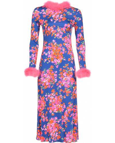 Платье из вискозы осеннее Mulberry