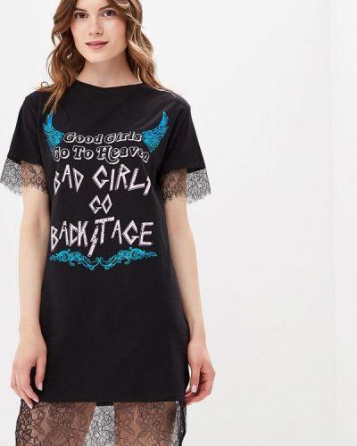 Платье футболка осеннее Befree