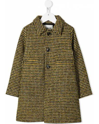 Классическое желтое пальто Touriste