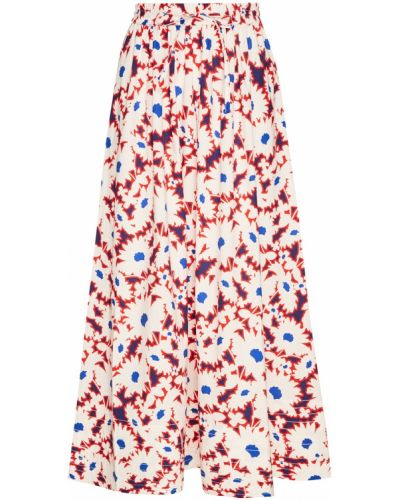 Хлопковая юбка макси на резинке с завязками Paul & Joe Sister