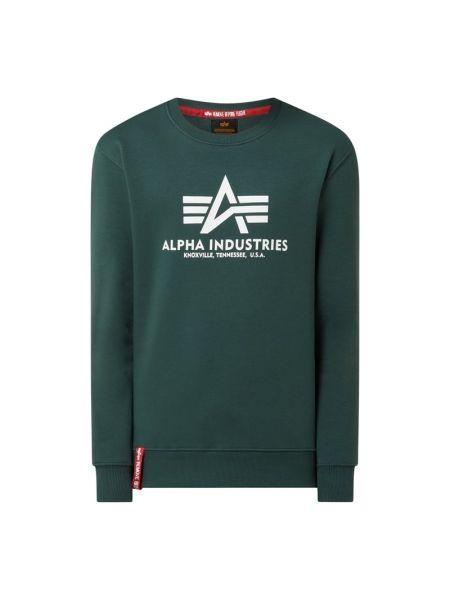 Bluza - turkusowa Alpha Industries