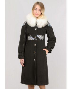 Пальто с капюшоном хаки Raslov