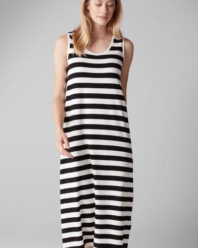 Платье миди в полоску платье-поло Marc O' Polo