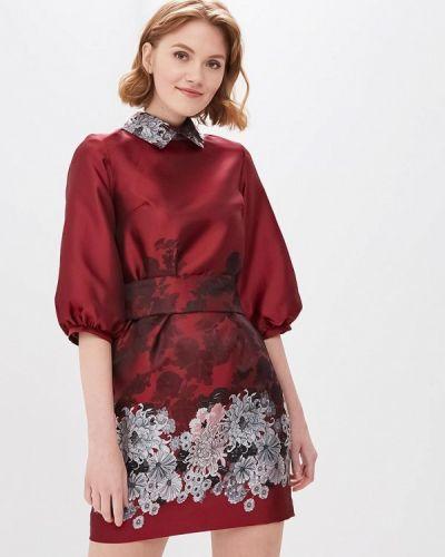 Платье бордовый красный Anrostore
