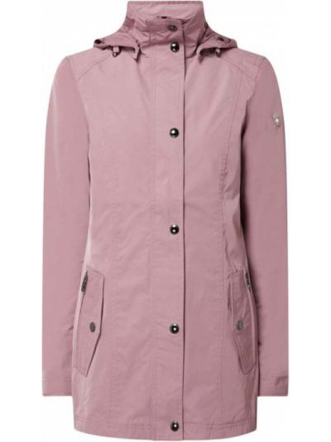 Różowa kurtka z kapturem Wellensteyn
