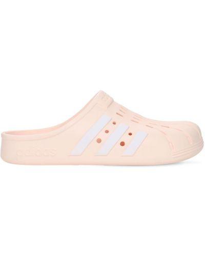 Różowe chodaki Adidas Originals