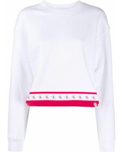Джинсы в полоску mom Calvin Klein Jeans