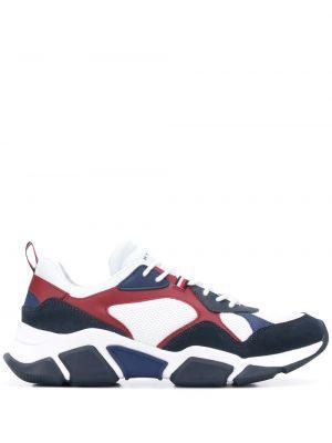 Кроссовки на шнуровке - белые Tommy Hilfiger