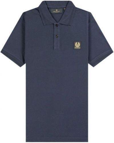 Niebieska koszulka Belstaff