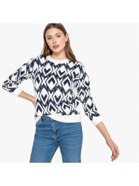 Пуловер длинный трикотажный Suncoo