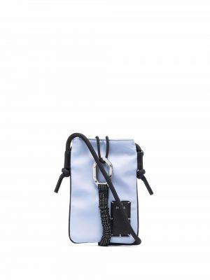 Niebieska torebka srebrna Mcq