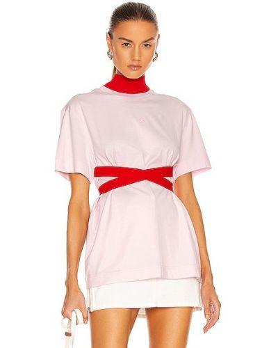 Koszula z wiskozy - różowa Givenchy