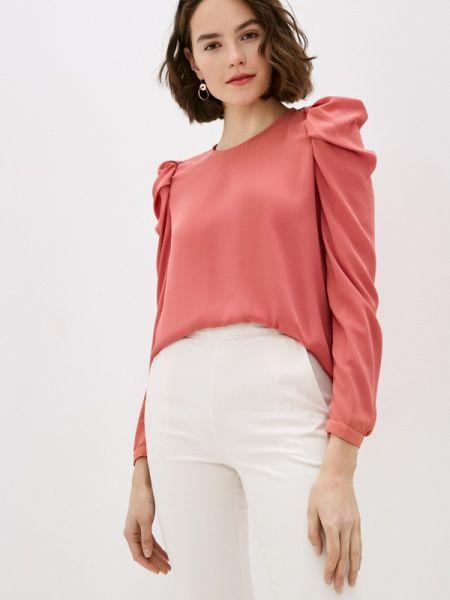 Блузка с длинным рукавом весенний коралловый Miss Miss By Valentina
