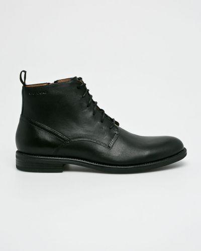 Ботинки на шнуровке кожаные высокие Vagabond