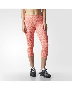 Różowe rajstopy Adidas