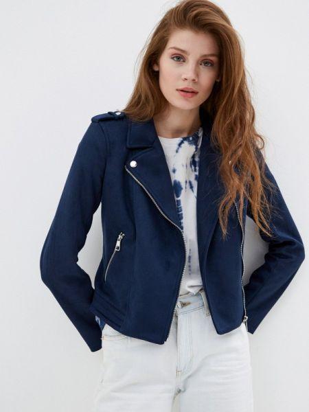 Кожаная куртка джинсовая весенняя Tom Tailor Denim