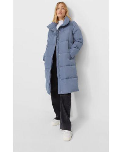 Пальто с высоким воротником Stradivarius