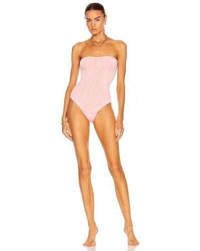 Różowy strój kąpielowy Hunza G
