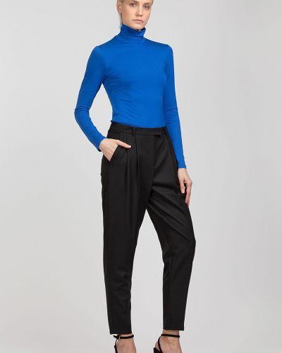 Блузка из вискозы синяя Vassa&co