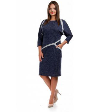 Повседневное платье в полоску платье-сарафан Liza Fashion