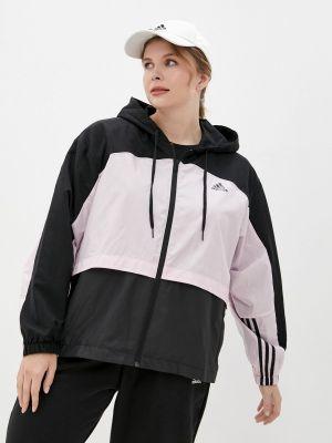 Легкая ветровка - розовая Adidas