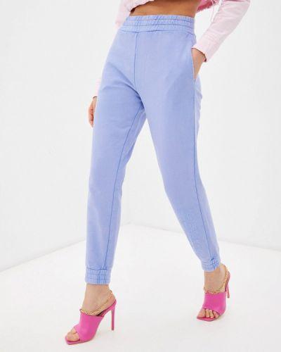 Фиолетовые спортивные брюки Guess Jeans