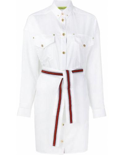 Платье макси длинное - белое Versace Jeans