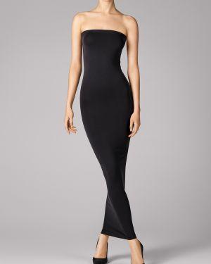 Кожаное платье - черное Wolford