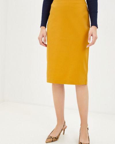 Желтая юбка узкого кроя Remix