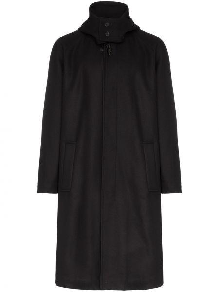 Синее шерстяное длинное пальто Lou Dalton