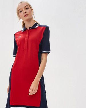 Платье платье-рубашка красный Forward