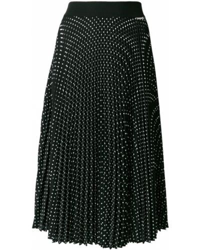 Плиссированная юбка миди в горошек Twin-set