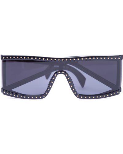 Солнцезащитные очки пластиковые стеклянные Moschino