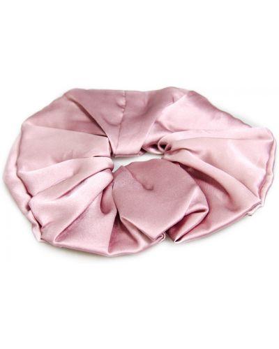 Różowa gumka do włosów Allora
