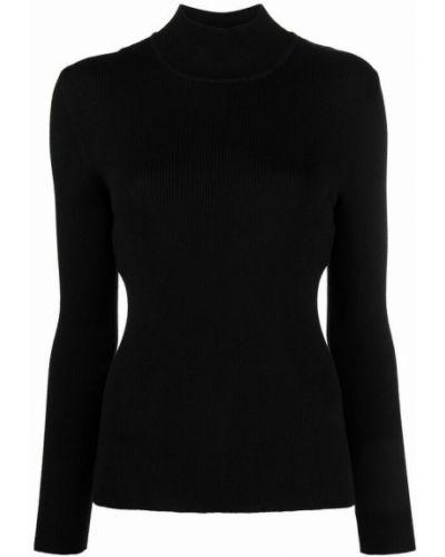 Czarny sweter Alberta Ferretti