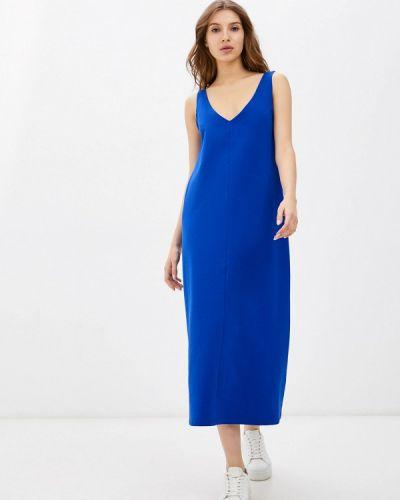 Платье-майка - синее Vivostyle