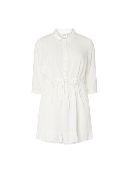 Biała bluzka z wiskozy Junarose