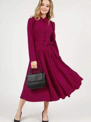 Платье рубашка - фиолетовое Marichuell