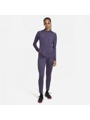 Dres dzianinowy - fioletowy Nike