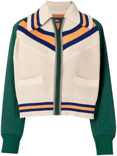 Белая куртка длинная Kolor