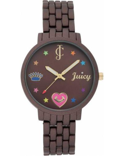 Brązowy zegarek mechaniczny kwarc Juicy Couture