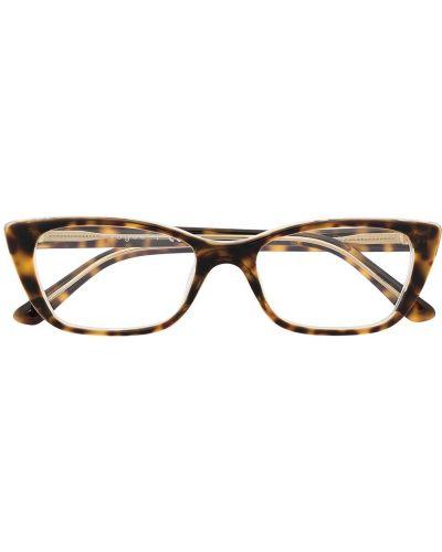 Прямые коричневые очки для зрения Vogue Eyewear