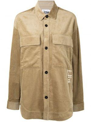 Klasyczna koszula - brązowa Izzue