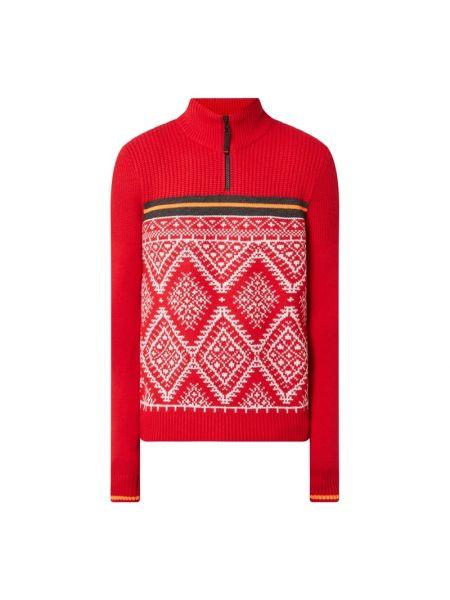 Prążkowana bluza wełniana Bogner Fire + Ice