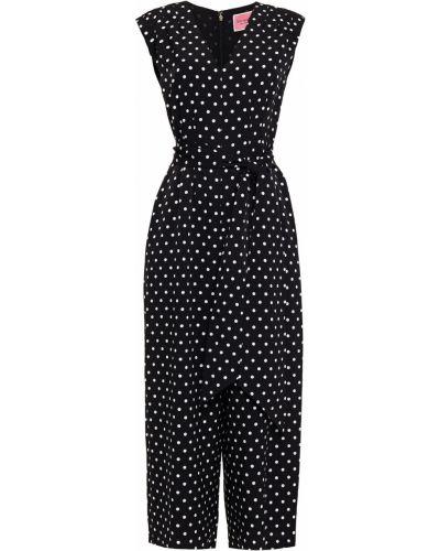 Комбинезон с карманами - черный Kate Spade New York