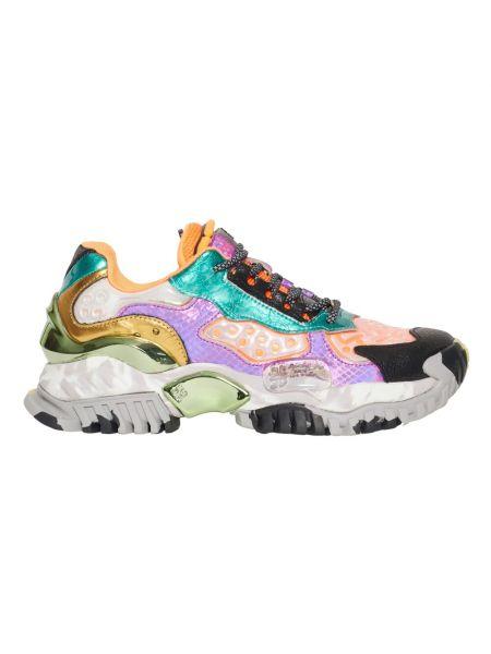 Fioletowe sneakersy Cljd