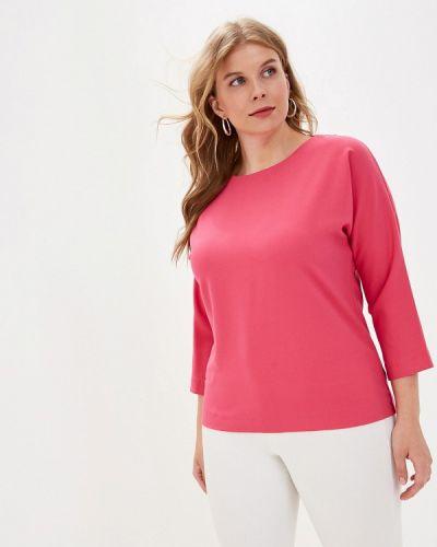 Блузка с длинным рукавом розовая весенний Grafinia