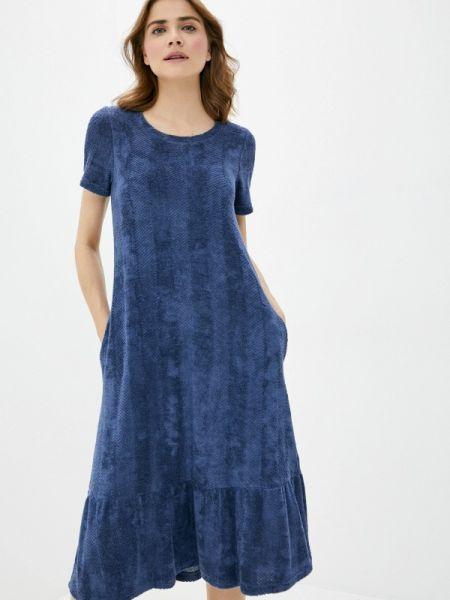 Синее повседневное платье Griol