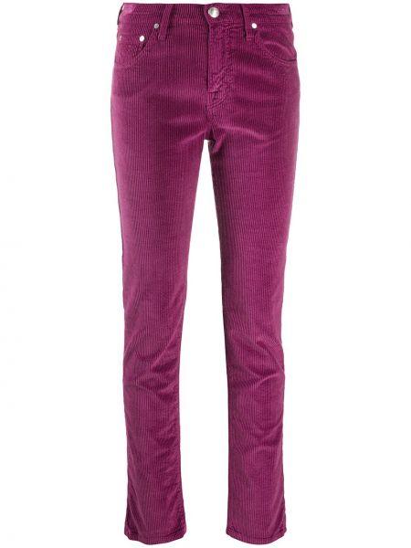 Зауженные классические брюки вельветовые с карманами Jacob Cohen