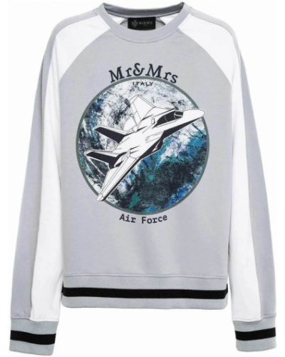 Czarna bluza z długimi rękawami Mr&mrs Italy